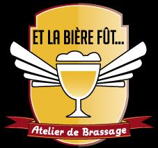 Logo et la bière fût...
