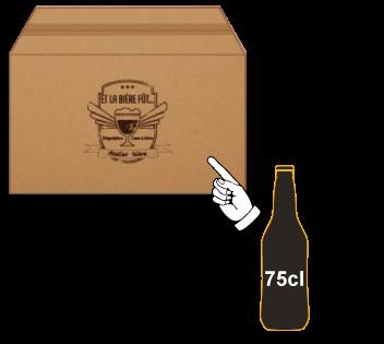cartons de 30 bouteilles - Brassin de 9 litres